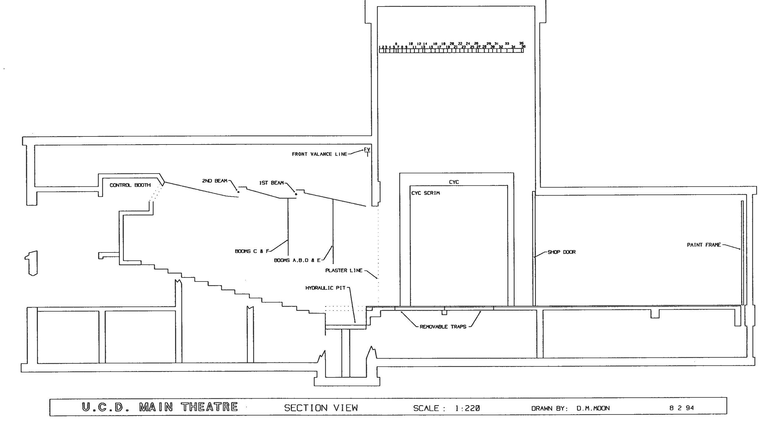 Theatre Amp Dance Production Facilities Uc Davis Arts
