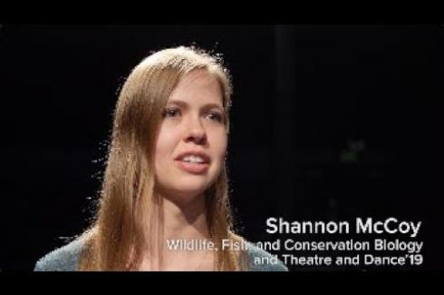 THEATRE DANCE STUDENT DISCUSSES HER DOUBLE MAJOR