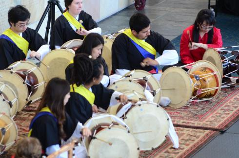 Image of Korean | Percussion Ensemble