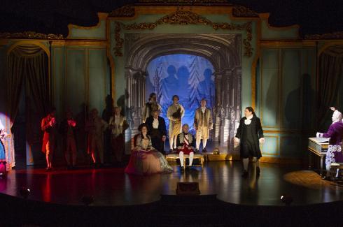 "Image of Theatre Publication Spotlights ""Amadeus"" with Set Design by John Iacovelli"