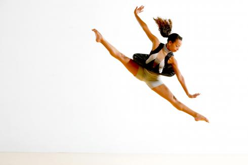 Image of MFA Student's Company |Appears at Dance Festival