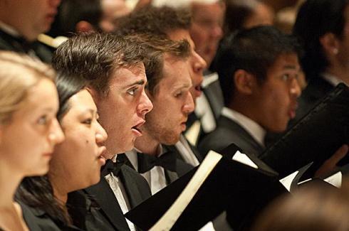 "Image of university chorus performs ""Carmina Burana"" June 3"