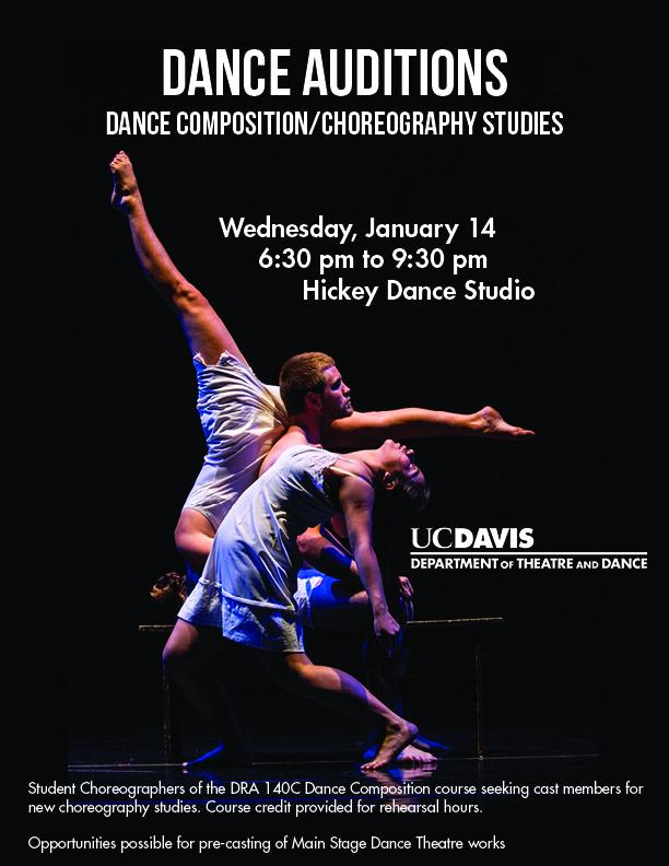 Auditions For Dance Compositions Choreography Studies