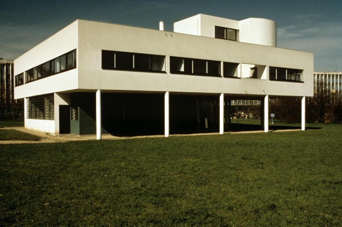 Happy birthday le corbusier uc davis arts for 5 points of architecture
