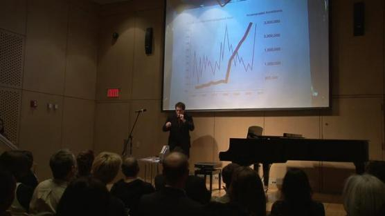 L.M. Bogad to perform 'Economusic' spoof, a musical translation of economic happenings, at NYU