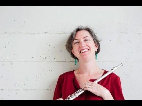Stacey Pelinka, flute, and Leighton Fong, cello
