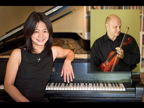 Igor Veligan, violin, and Natsuki Fukasawa, piano
