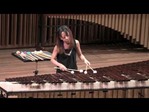 Mayumi Hama, marimba