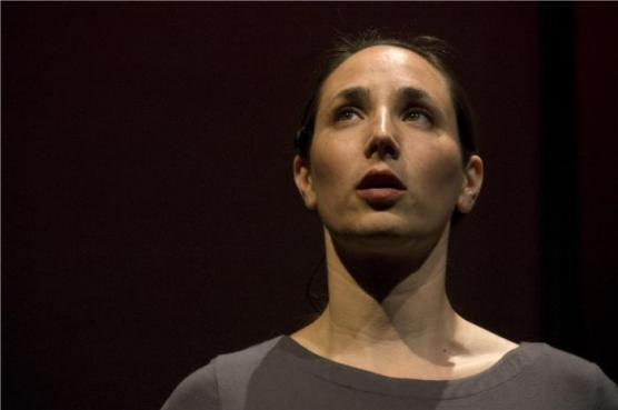 Rebecca Michelle David in Fate & Spinoza. Photo by Joey Kunin