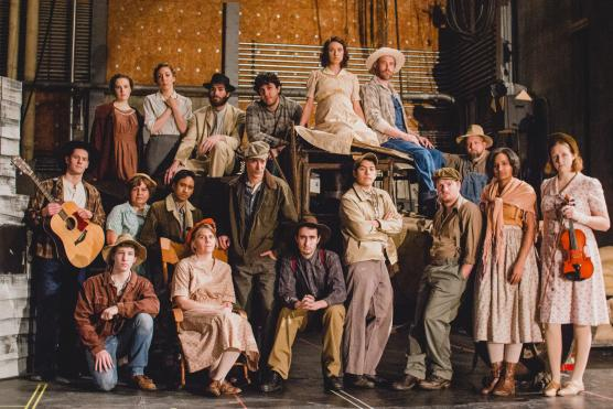 The Grapes of Wrath Cast; Photo by Abigail Alcala