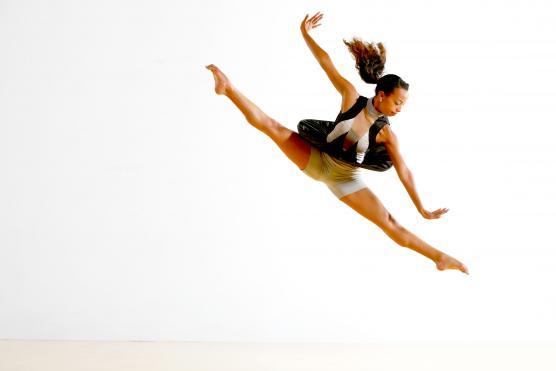 Ashley Gayle of PUSH Dance Company photo by Matt Haber