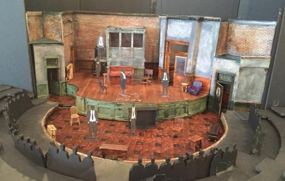 The set model for Ma Rainey's Black Bottom. Photo courtesy of John Iacovelli, copyright John Iacovelli