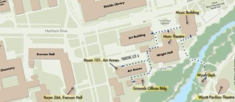 Music Buildings - UC Davis Arts Uc Davis Campus Map Printable