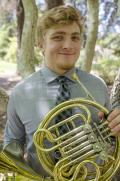 Alex Stepans, horn.