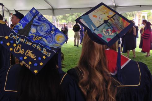 Image of Commencement 2014: |Artful Caps