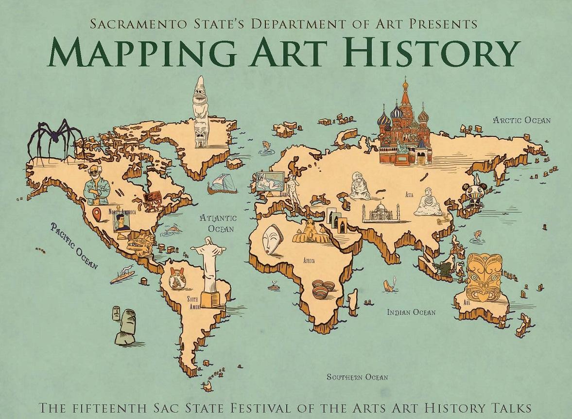 John López Mapping Art History at Sac State Event - UC Davis Arts on