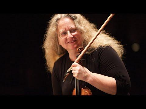 Terrie Baune, violin,|and John Chernoff, piano