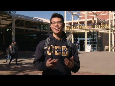 """Give Day"" at UC Davis"