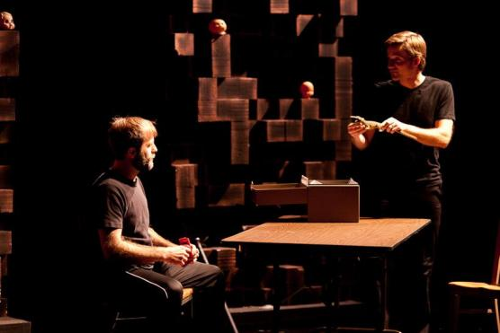 The Psycho-Physical Actor/MFA Acting Aaron Jessup and Will Klundt Credit: Robert Durell
