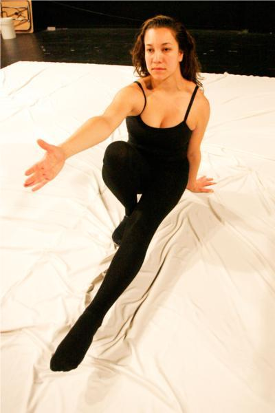 "Arabella Mendez in ""A Mother's Love"" by Angel Rodriguez-Spindler. Credit Brian Nguyen"